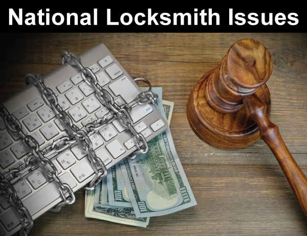 National Locksmith Issues